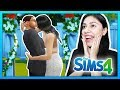 MY WEDDING DAY! - The Sims 4 - My Sims Life - Ep 18