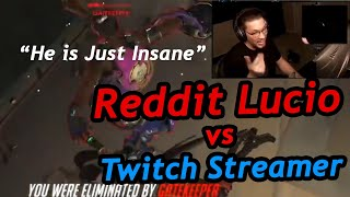 [OW] Spawncamping a Twİtch Streamer with my Lucio