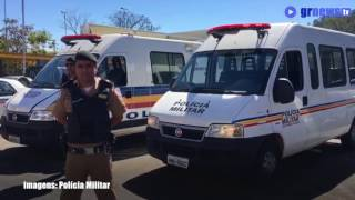 Homenagem em Pará de Minas ao cabo da Polícia Militar Marcos Marques da Silva