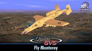 Quantum3D - Aalchemy AA5 8232SB - OpenGVS RealWorld Benchmarks - Fly Monterey (8xFSAA)