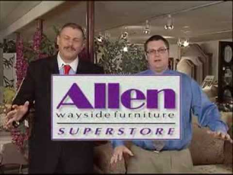 Allen Wayside Furniture Superstore Youtube