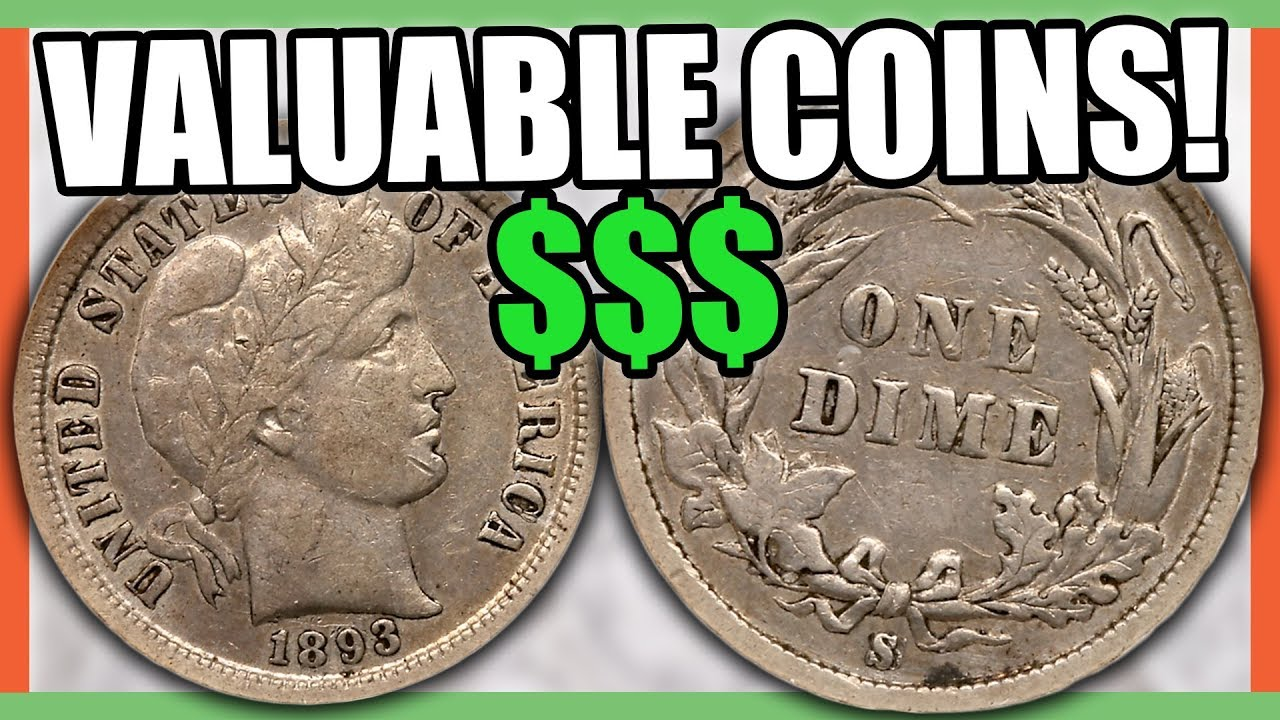 63 000 Dime Worth Money Rare Barber Dimes To Look For Youtube