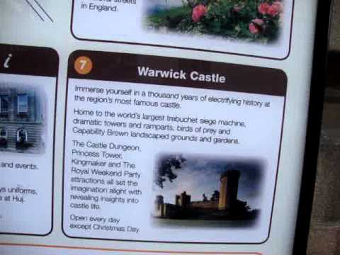 Warwick (UK) attractions for visitors.