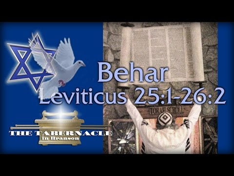 Torah Portion - Behar (On The Mountain) 5/28/16