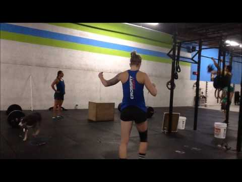 CrossFit Equity: 2016 Team Series Event 2 - BJ and M&Ms