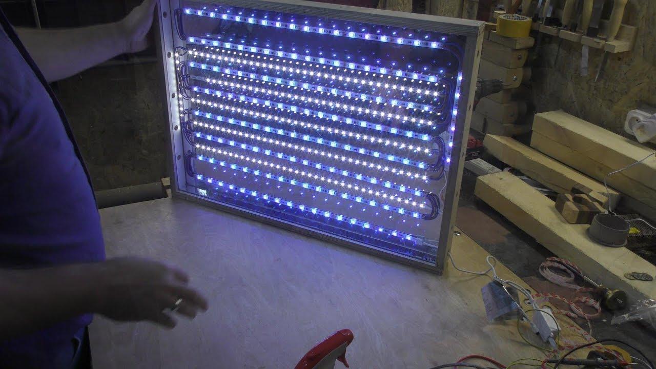 Oświetlenie Warsztatu Lampa Led Led Lamp Workshop Diy