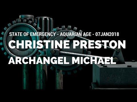 Archangel Michael - State of Emergency - Aquarian Age - 07JAN2018 - 4K