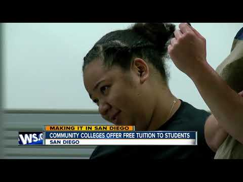 Promise San DIego gives free tuition to local college students