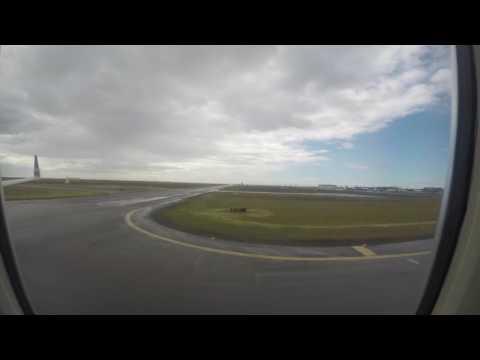 Landing in Reykjavik Time Lapse