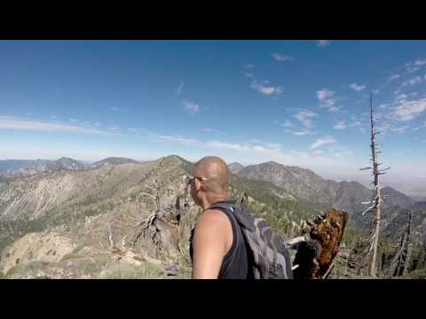 Mt Baden Powell from Islip Saddle to Vincent Gap