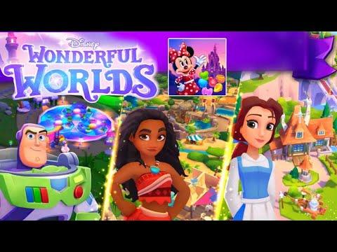 Disney Wonderful Worlds - Walkthrough - Gameplay [Android - ios] Ludia Inc.