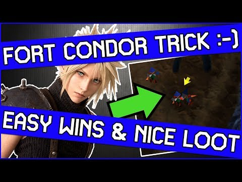 don't-miss-this-fort-condor-trick-in-final-fantasy-7---easy-battles-&-nice-rewards!