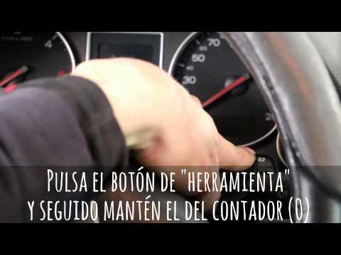 RESETEO SERVICIO MANTENIMIENTO/REVISIÓN...