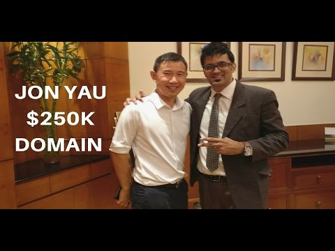 Jon Yau Who Bought $250k Domain Through Flippa Auction