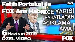 İmamoğlu: Ordu Valisi devlet adamlığını yapamadı! 6 Haziran 2019 Fatih Portakal ile FOX Ana Haber
