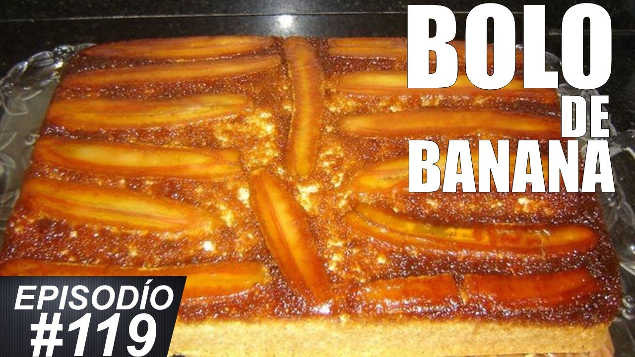 COMO FAZER BOLO DE BANANA SIMPLES