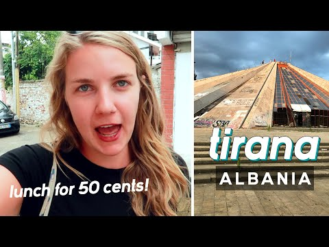 How cheap is ALBANIA? 🇦🇱Food, sightseeing, drinks, under 20 euro a day!
