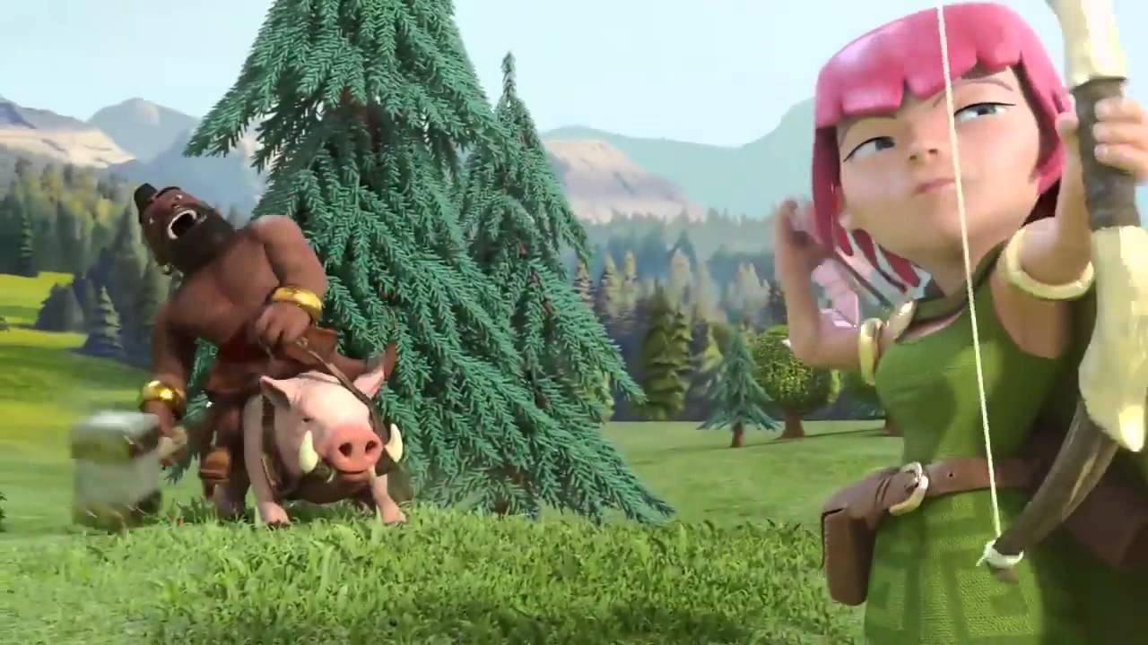 Clash of clans - Commercial on T.V.
