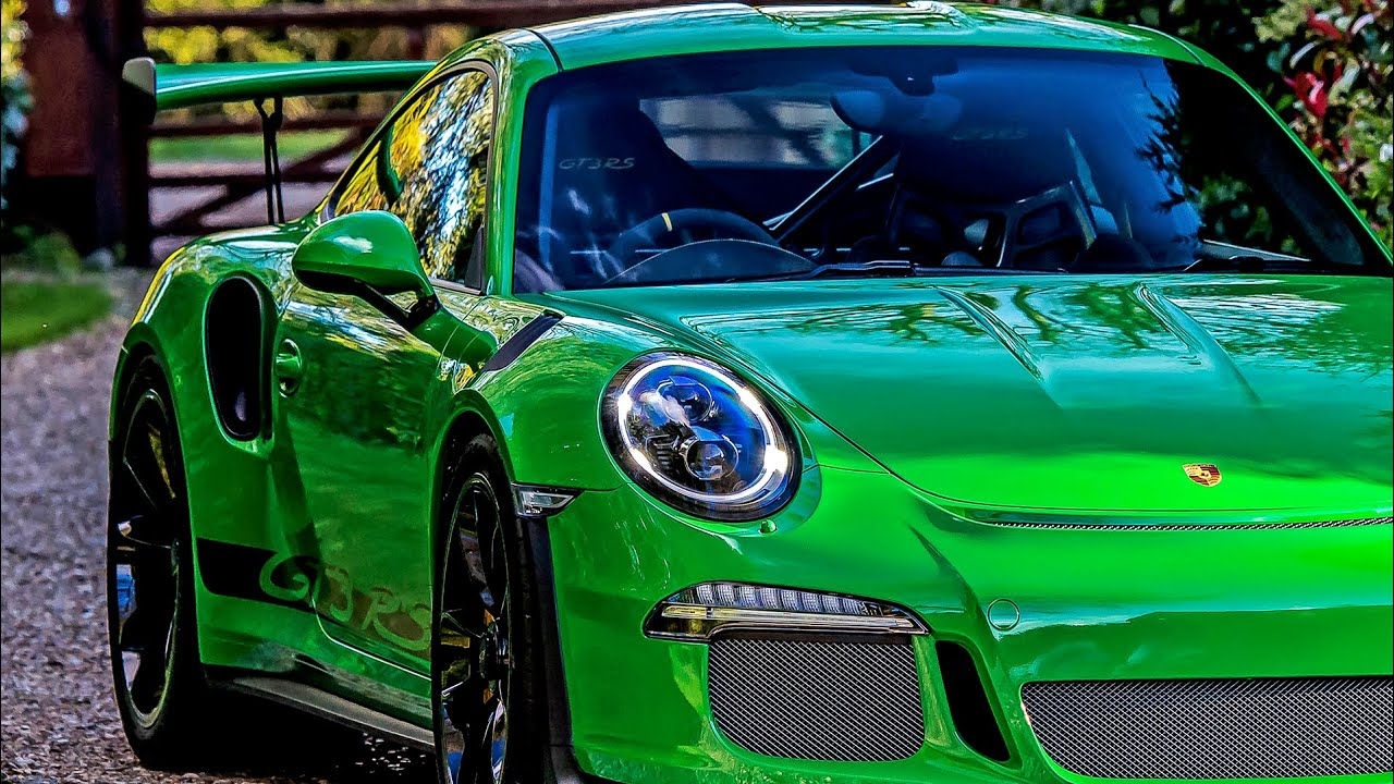 Viper Green Porsche 991 GT3 RS Ultimate Paint Protection ...
