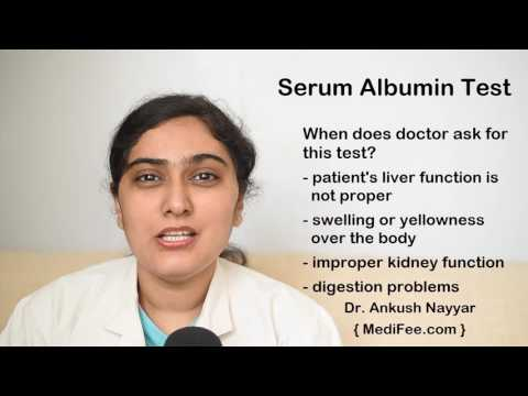 Serum Albumin Test in India