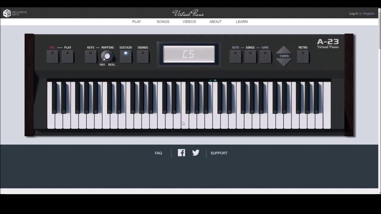 Astronomia Coffin Dance Virtual Piano Youtube