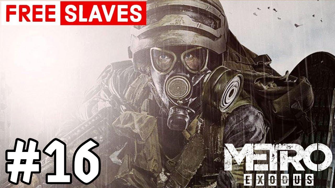 Download Metro Exodus Free Slaves Mine Gif