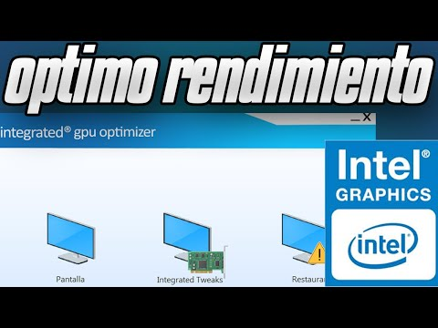 Como Optimizar Graficos Integrados Para AUMENTAR FPS (IGPU)|[Rendimiento] Integrated Gpu Optimizer