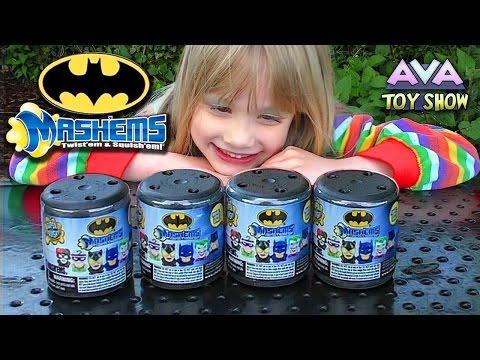 Batman Mashems On Ava Toy Show