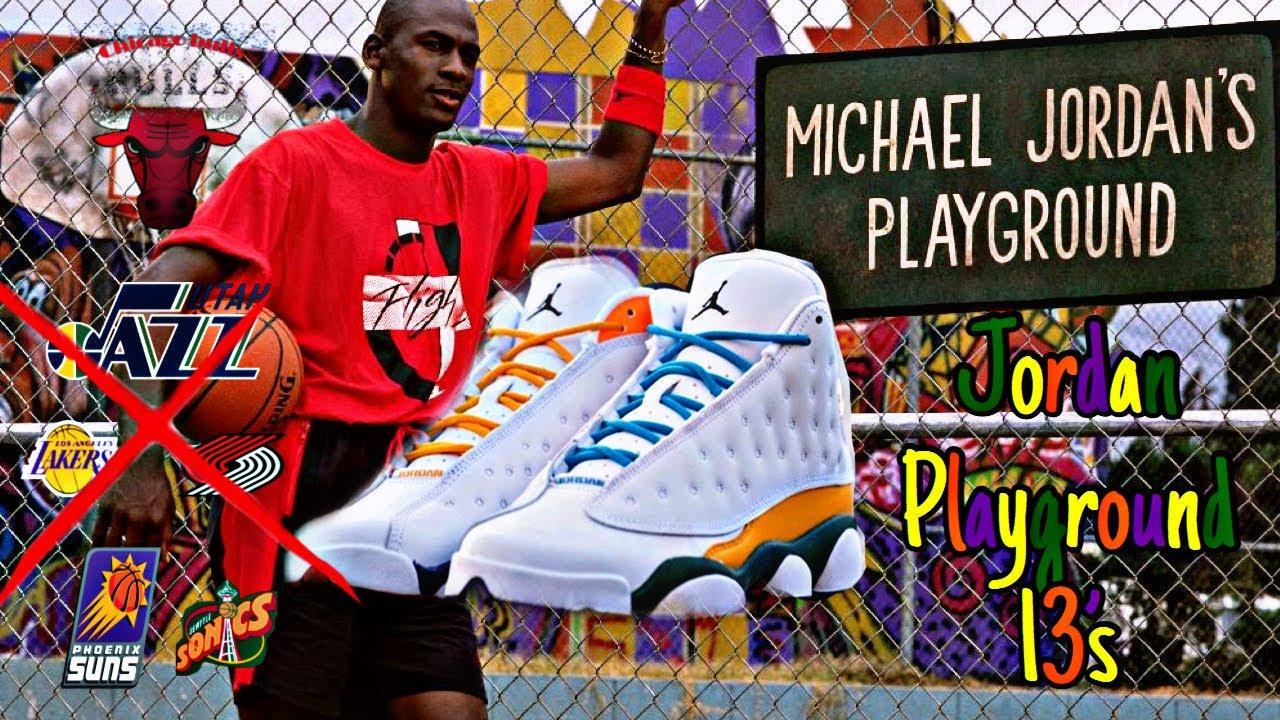 Air Jordan Retro 13 Playground Review Of Shoe Colorway Youtube