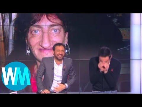 Top 10 des PLUS GROS FOUS RIRES à la TÉLÉVISION française !