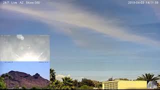 24/7 Live AZ Skies - Jake D says, look at 14:11:20~14:12:20 thumbnail