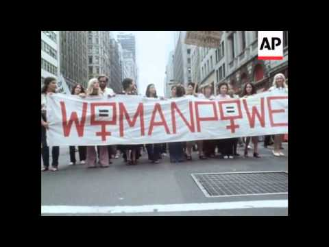 US: Women's Liberation March - 1971