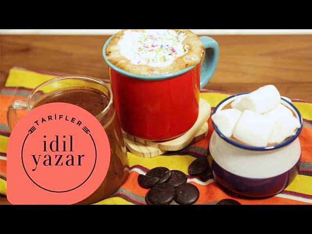 Sıcak Çikolata Tarifi! (MEKSİKA, VEGAN, NUTELLALI) - İdil Yazar - Yemek Tarifleri