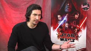 Adam Driver speaks to RJ Glenn about his obsession with the dark side