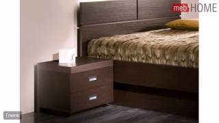 CITY (спальня) Кровать 3 (180)(Цена: 12933 руб. Материал: корпус - ЛДСП, фасады - МДФ Размер спального места, см: 180 х 200. Кровать комплектуются..., 2014-07-14T08:25:21.000Z)