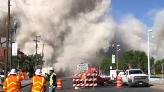 El Paso city Hall Demoliton