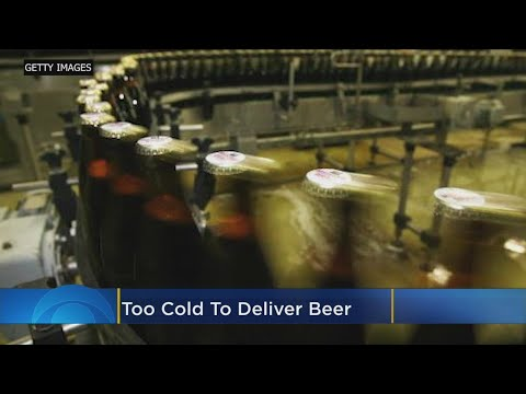 Wendy - It's Too Cold To Deliver Beer In Parts Of The Midwest!