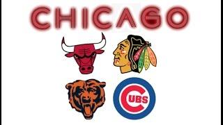 All Chicago Sports Songs (Bulls, Blackhawks, Bears, Cubs)