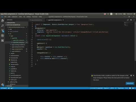 data sharing in angular component via output thumbnail