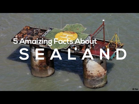 5 Amazing facts about Sealand