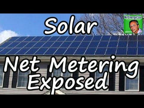 Solar Net Metering Exposed