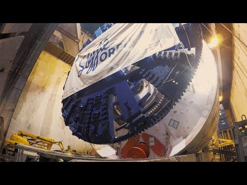 Grand Paris Express (FR): Lancement du premier tunnelier « Steffie »