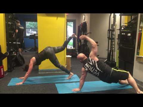 Molly vs Paul Advanced Yoga