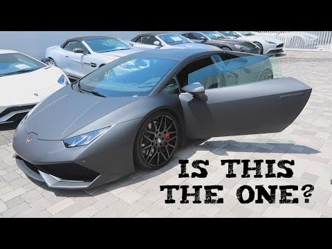 Shopping for a Lamborghini Huracan In Beverly Hills