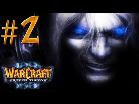 Warcraft 3 The Frozen Throne Walkthrough - Part 2 - The Broken Isles [1/2]