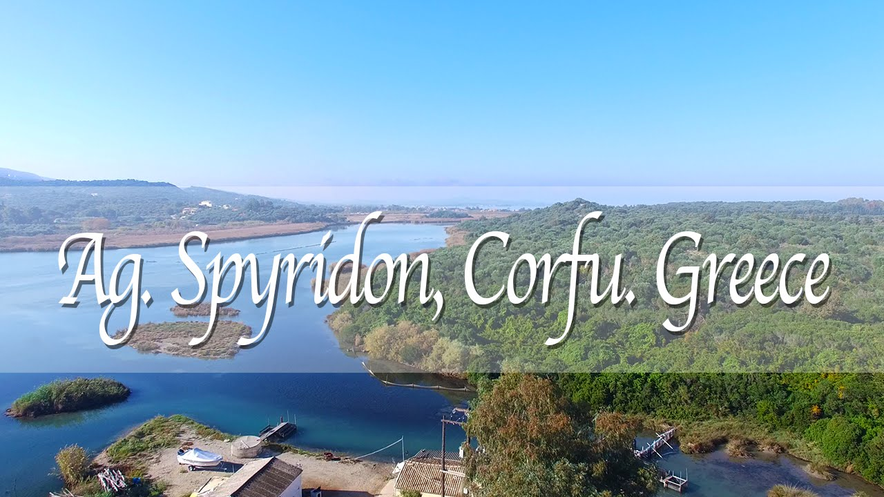 Phantom 3 Drone - Ag  Spyridon, Corfu, Greece