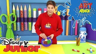 Art Attack Bastelclip #35: Leseampel | Disney Junior