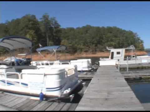 Carters Lake Marina Docks Youtube