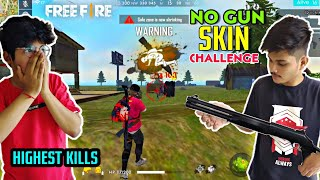 Free Fire Rank Match    No GUNS SKINS Challenge Duo Vs Squad 20 Unbelivable Kills - Two Side Gamers