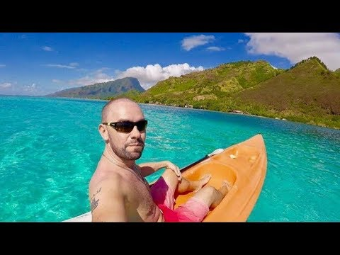 Air Tahiti, Papeete to Moorea: Best 24 hours of my life! + I